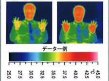 高酸素吸収による体温上昇