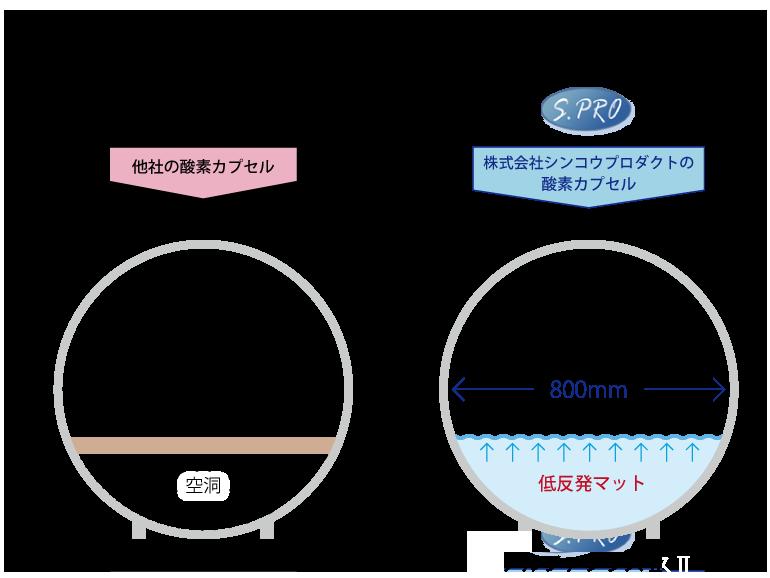 カプセル断面図